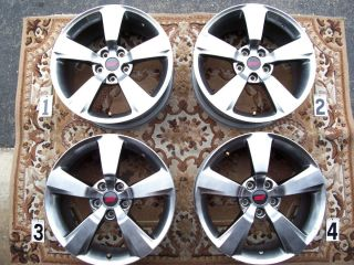 SUBARU IMPREZA WRX STI 18 WHEELS RIMS STOCK OEM FACTORY JAPAN CHARCOAL