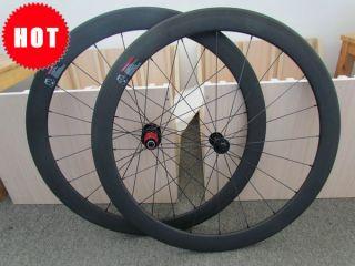 700c 50mm Clincher Carbon Wheels 3K Matte Finish Carbon Road Cycle