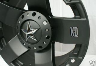 18 inch Black KMC XD Toyota Tundra 5x150 Wheels Rims