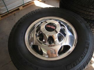 Silverado Sierra Denali 3500 Polished Dually Wheels Rims Tires