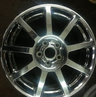 Single 18 Cadillac STS OEM Chrome Factory Wheel Rim CTS DTS DHS 4585