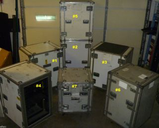 33 5 x 26 x 43 Shipping Hard Cases Storage Case w Wheels