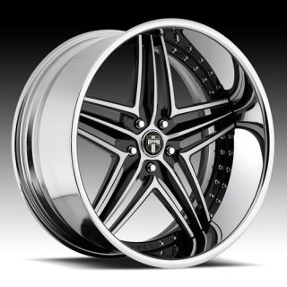 Type 49 Chrome Wheel Set Custom Forged Rims 5 6 Lug Vehicles