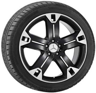 Genuine Mercedes Benz M GL Class ml W164 X164 20 2 Tone 5 Spoke Wheel
