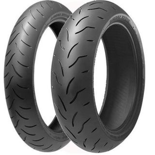 New Bridgestone Battlax BT 016 Front Rear Tires 120 180