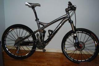Specialized Stumpjumper Full Suspension Mountain Bike MAVIC SLR WHEELS