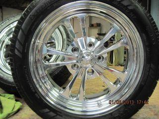 Colorado Custom Billet Wheel and Tire Package