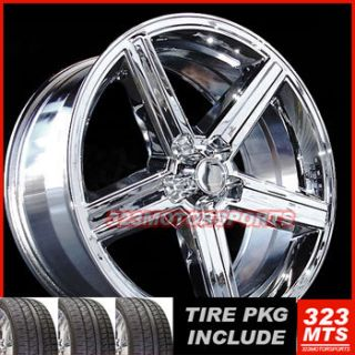 18 IROC Wheels and 225 40 18 Tire Camaro El Camino Impala Rims