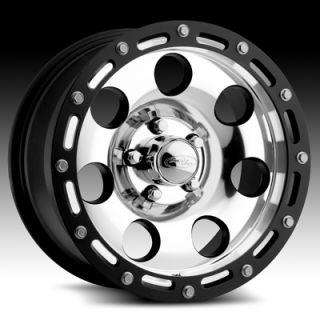 16 x8 Eagle 137 1378 s F Black Wheels Rims 5 6 8 Lug