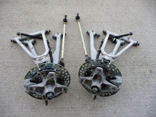 Yamaha Banshee A Arms Brakes Hubs Spindles Rotors 91 06