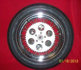 Shovelhead Sportster Rear Tire Wheel 40 Spoke Rim Sprocket Rotor
