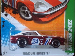 Hot Wheels 2011 Super Treasure Hunts T Hunt Datsun 240Z