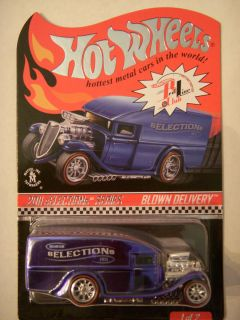 Hot Wheels RLC Blue Blown Delivery Selections Treasure Hunt 5439 9408