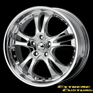 x7 American Racing AR683 Casino Chrome 4 5 Lug Wheels Rims FREE LUGS