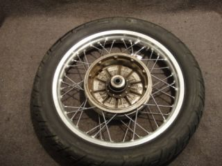 77 BMW R100 R100 7 R100 7 Wheel Rear Rim Tire A50
