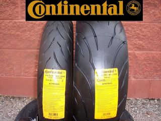 Continental Sport Touring Radial Motorcycle Tire Set 120 190