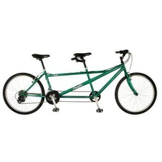 Pacific Cycles Dualie Tandem Bike 26 inch Wheels 264140P New