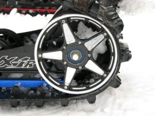 Inch Custom Aluminum Rear Snowmobile Suspension Idler Wheels Drag Race