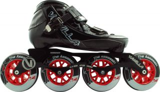 Competition Inline Speed Skates 100mm Wheels Size 6 Ships Free