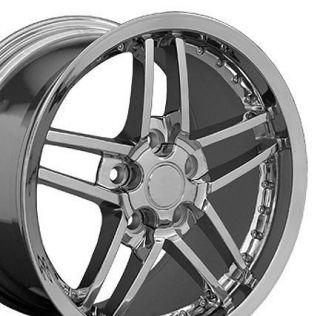 Corvette C6 Z06 Style Rivet Wheel 18x8 5 Rim Fits Camaro SS