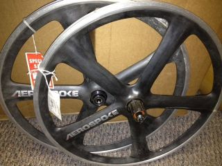 Aerospoke Recumbent 20 Black Wheels