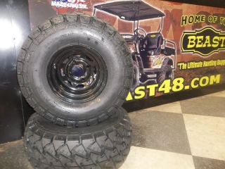 Golf Cart Tires and Rim Combo Wholesale