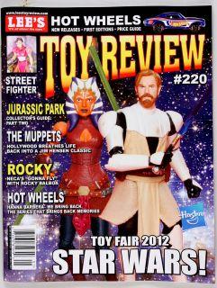Lees Toy Review Issue 220 Spring 2012 Hot Wheels Star Wars Gi Joe