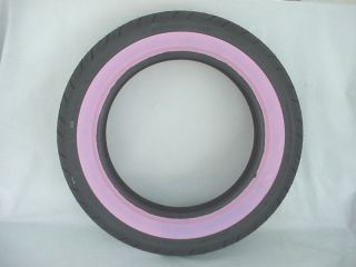 Harley Davidson Pink Rear Sportster Tire Yes Pink Wall