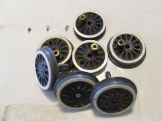 American Flyer Parts Lot of Steam Engine Wheels