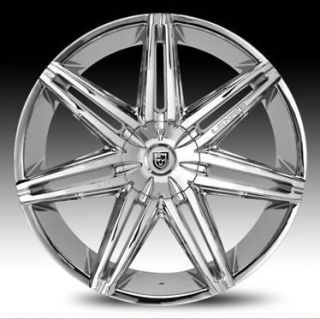 II Wheel Set 30x10 Chrome 5 6 Lug rwd Wheels 30INCH Rims