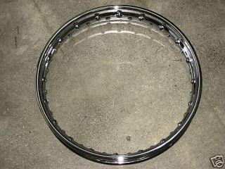 Devon Chrome Rim WM3 x18 Rear Wheel Triumph BSA UK Made