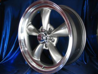 18x8 18x9 GRAY REV CLASSIC 100 WHEELS RIMS FOR 2WD CHEVY S10 / BLAZER