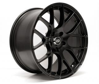 Enkei Raijin Black 18x8 5x100 35 Tuning Series Wheel Rim
