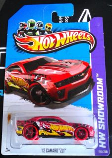 2013 Hot Wheels 12 CAMARO ZL1 Super Rare VHTF Possible Treasure Hunt