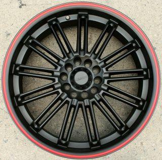 KASINO SLOT 679 20 BLACK R RIMS WHEELS FUSION FLEX MUSTANG 20 X 7 5 5H