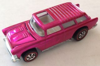 Creamy Pink Nomad Old Hot Wheels Die Cast Vintage Car Hot Wheel