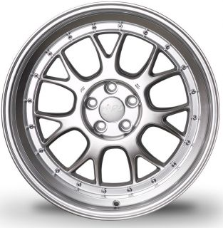 18 MIRO 368 Wheels Set For VW Golf GTI MK5 6 EOS Passat Rims With Step