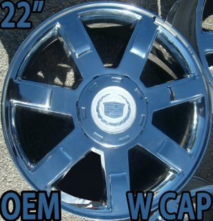 Cadillac Escalade ESV EXT Factory 22 Chrome Wheel OEM Rim 5309 959585