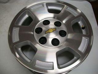 Silverado factory 17 alloy wheel rim tahoe suburban avalanche OEM 5299