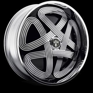 Slots Wheel Set Chrome Spinner 28x10 rwd 5 6 Lug Rims 28inch