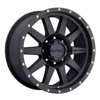 16 Method Black Wheel 285 75R16 Falken Wild Peak A T Tire Mount