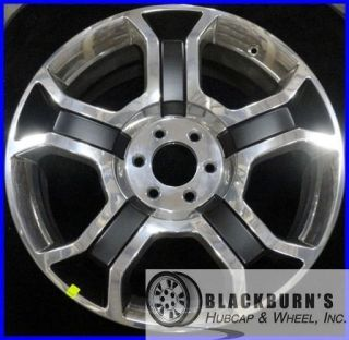 FORD F150 HARLEY DAVIDSON 22 POLISHED BLACK WHEEL OEM FACTORY RIM 3750