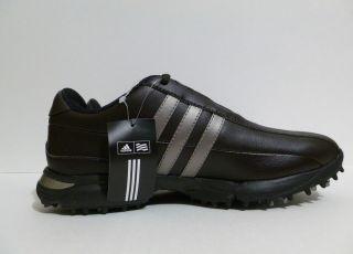 Mens Adidas Adicomfort Golf Shoes Waterproof Chocolate Brown Size 7