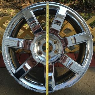 Escalade Ext ESV 22 Factory Wheel Rim Chrome 07 08 09 10 11 12
