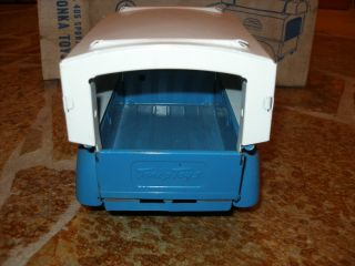 Tonka Sportsman 405 Truck with Canopy 1962 Blue White Original Box