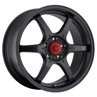 New Konig Backbone 15x6 5 4x100 ET38 Matte Black Rim Wheels
