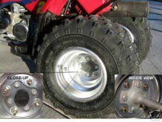 Honda TRX90 to 400EX Front Wheels Conversion Kit 4x156mm Yamaha Bolt