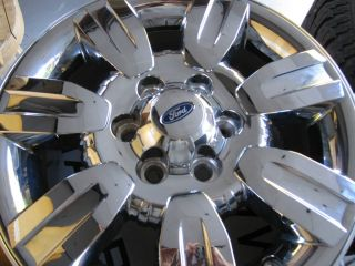 Ford OE F150 CHROME Alloy Wheels 2004 2012 Genuine OEM Rims Expedition