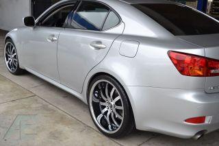 20 inch Lexus LS400 LS430 LS460 Wheels Rims RW3 Black CL