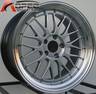 19 Staggered LM Style Wheels 5x114 3 Rims Aggressive Fits Lexus SC300